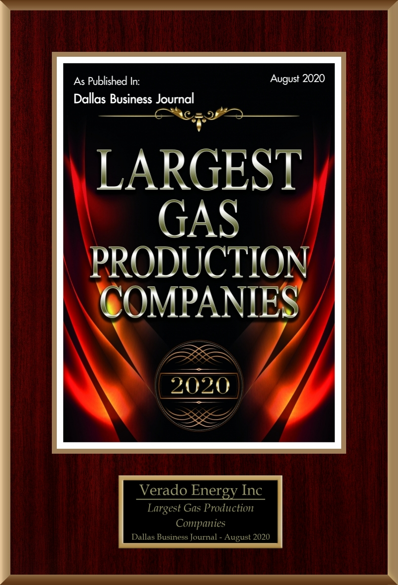 Largest Statewide Gas Production Companies 2020